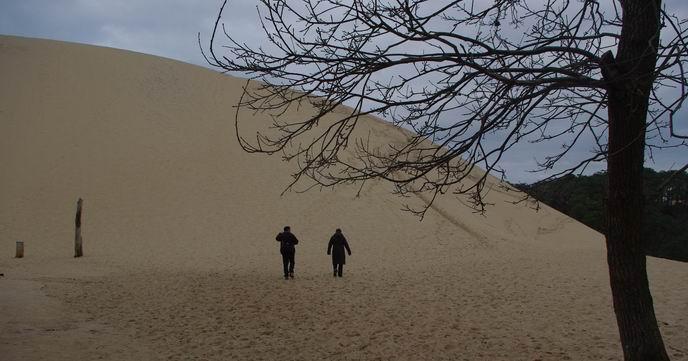 Dune du Pyla. Mais les réservations sont interdites sur la côte jusqu'au 15 avril (ph Paysud)