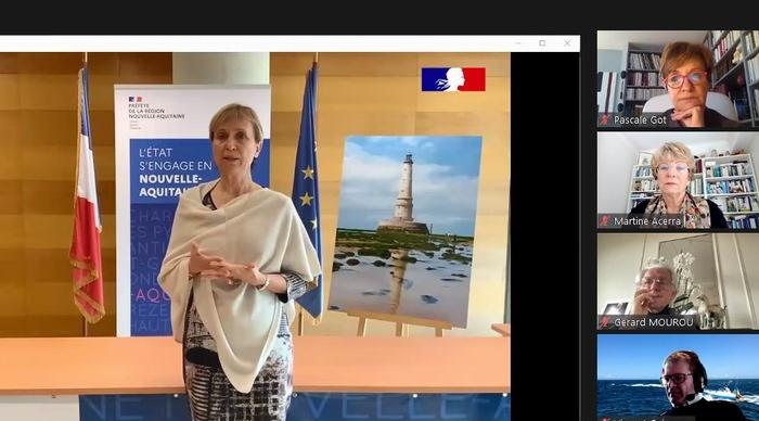 Le message de la préfète Fabienne Buccio (capture d'écran-DR)