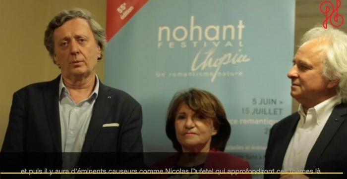 Jean-Yves Clément, Sylviane Plantelin,présidente,Yves Henry (capture d'écran)
