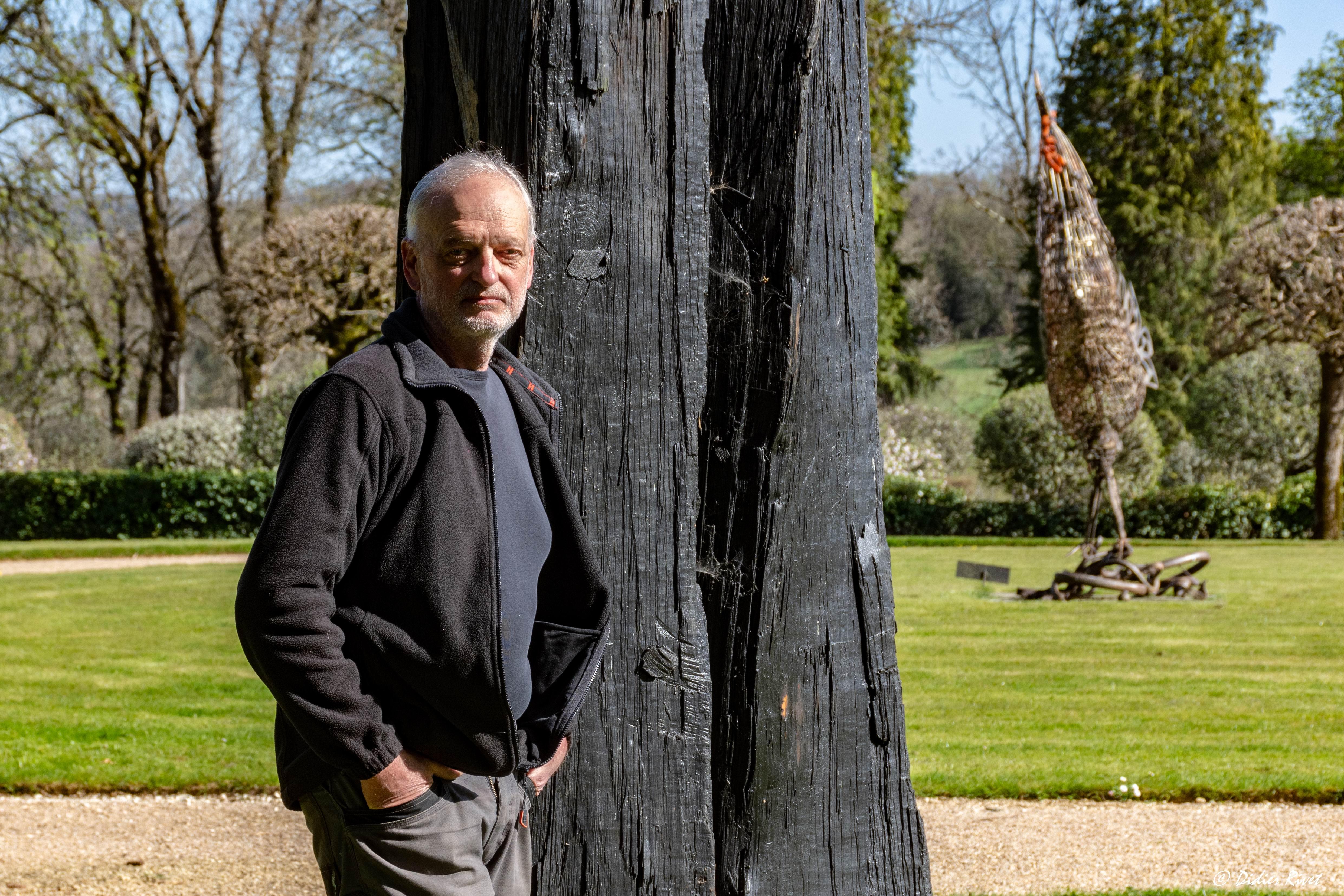 Christian Lapie à Eyrignac(ph Didier Rivet)