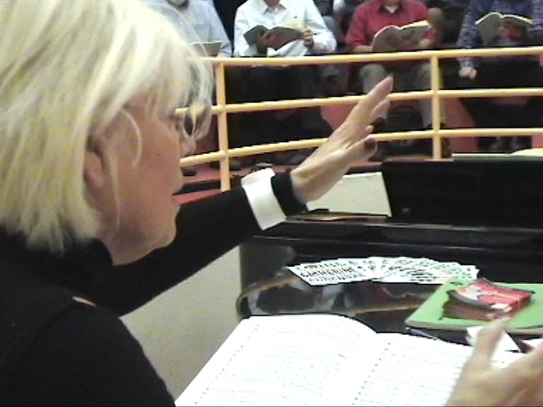 Eliane Lavail en répétition (Ph Paysud)