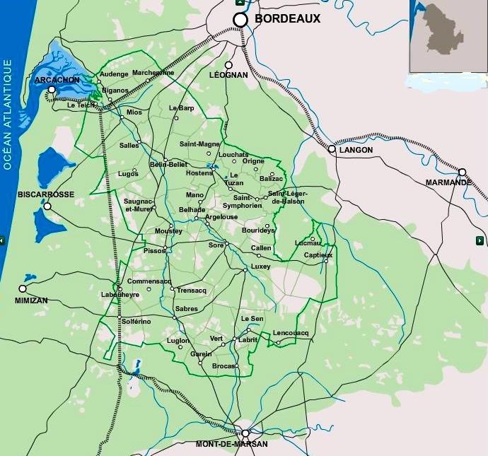 Clicquer sur la carte (carte PN)