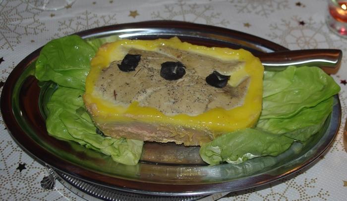 Foie gras truffé (truffe du Périgord) -Ph Paysud