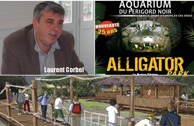 Aquarium du Périgord Noir:poissons des rivières et alligators des bayous