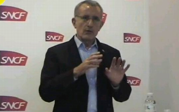 Guillaume Pepy en 2012 à Bordeaux (Ph Paysud Tv)
