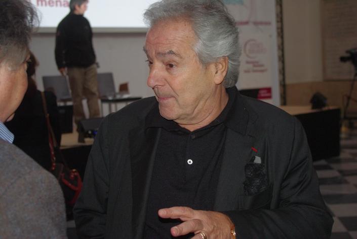 Pierre Arditi à Vino Bravo à Bordeaux (Ph Paysud)