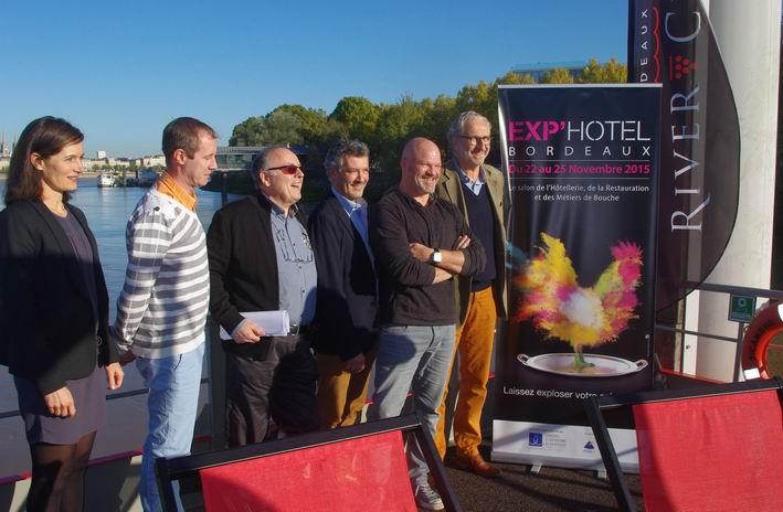L'édition 2015 a été présentée à bord du Sicambre (Ph  Paysud)