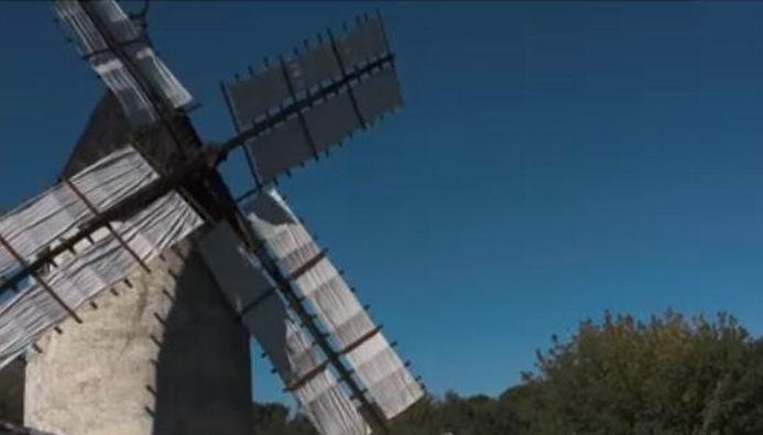 Le moulin de Vensac (capt.écran vidéo bordeaux-tourisme)