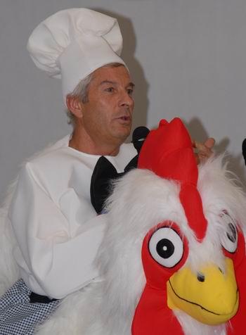 Pierre Buffo:communication à la gasconne ...(DR)