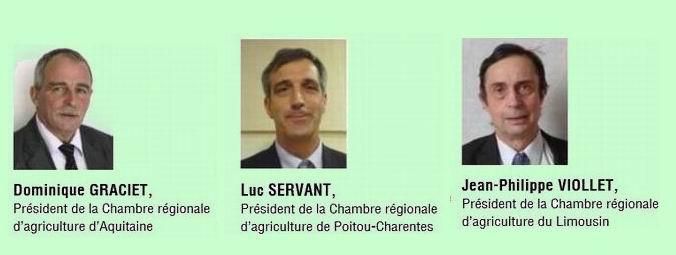 Président et vice-présidents... (DR)