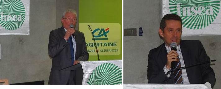 Jean-Louis Dubourg et Jérôme Despey (ph Paysud)