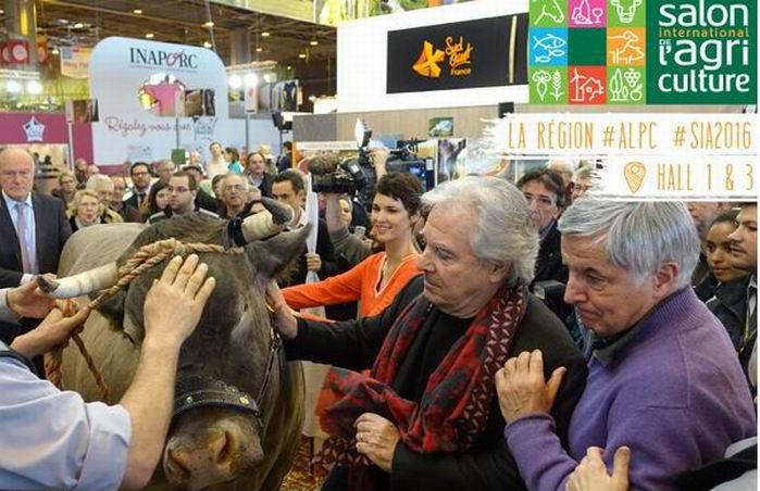 Les grands moments du Salon de l'Agriculture de Paris