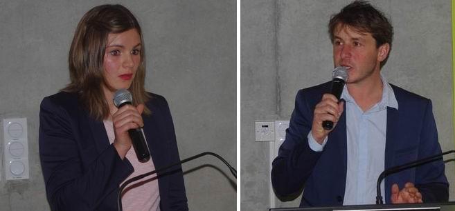 Bérénice Walton et Thomas Solans (Ph Paysud)