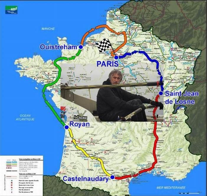 Le nouveau défi  de Charles Hedrich: le Tour de France à la rame