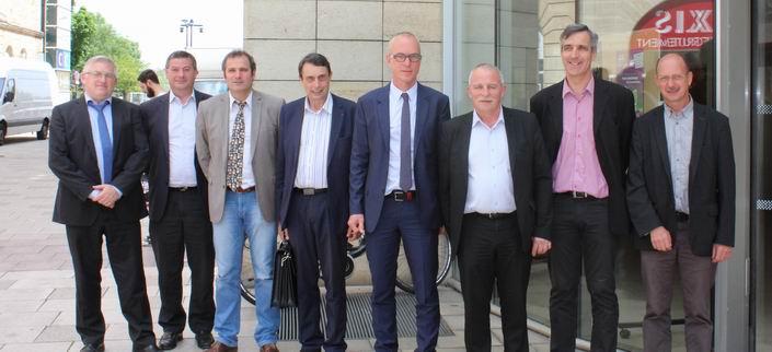 Une nouvelle équipe de direction à la chambre régionale d'agriculture ALPC