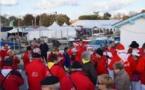 Huîtres et entre-deux-mers aux Cabanes en fête d'Andernos (Gironde)