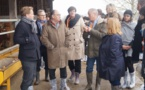 """Gironde:opération """"les élus à la ferme"""""""