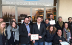 Le palmarès du concours  Etincelle de Bordeaux Technowest