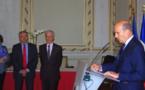 Hommage à Claude Cassagne à l'Hôtel de ville de Bordeaux