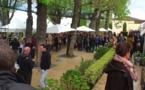 Affluence au marché des Chefs du Saint-James à Bouliac