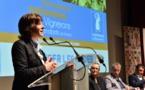Carole Delga aux côtés des vignerons indépendants