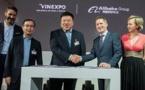 VINEXPO  a signé un accord avec le groupe chinois Tmall- ALIBABA