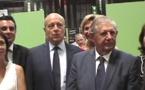 VINEXPO:Jacques Mézard au contact du monde du vin