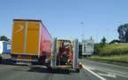 Les camions vont prendre le train entre Lille et le Sud Aquitaine
