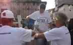 Grève du lait: 10 000 litres  de lait déversés dans Villeneuve-sur-Lot