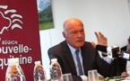 Les trois priorités d'Alain Rousset:emploi,transports, territoires