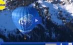 """Spectaculaire:les """"Montgolfiades"""" des pays du Mont Blanc"""