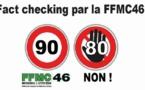 Comment la Fédération des motards du Lot démonte le 80km/h