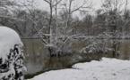 Région parisienne:après l'eau la neige