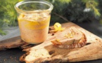 Rougié:un foie gras sublimé à l'yuzu et à la liqueur de gentiane
