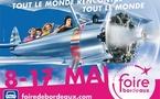 Foire Internationale de Bordeaux: des avions sur le plancher des vaches