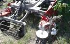 Démonstrations de désherbage mécanique de la vigne en Gironde