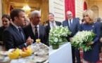 Rungis offre son muguet au couple présidentiel
