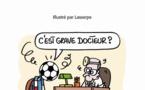Le petit dictionnaire impertinent du foot aux Editions Féret
