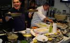 Les cabanes ostréicoles  d'Andernos-les-Bains préparent la fête
