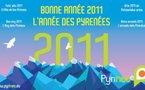 Une carte de voeux géante à l'occasion de l'année des Pyrénées