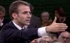Grand débat:Macron donne le ton