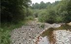 Sécheresse: économies d'eau et nouvelles réserves au programme en Adour-Garonne