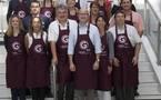 Les Girondins en vendange à Montmartre