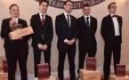 Le Trophée  Pessac Léognan récompense les élèves sommeliers