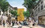 Bordeaux:la future Place Sainte-Catherine