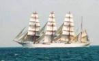 Le Sedov,le plus grand navire-école du monde  à Bordeaux fête le fleuve