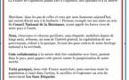 """L'appel du 18 juin des """"Sans Etiquette"""""""