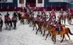 La Garde républicaine en lever de rideau du Jumping de Bordeaux