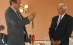 Jean-Claude Boyer Commandeur dans l'Ordre du Mérite Agricole