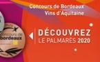Le palmarès du concours des vins de Bordeaux 2020